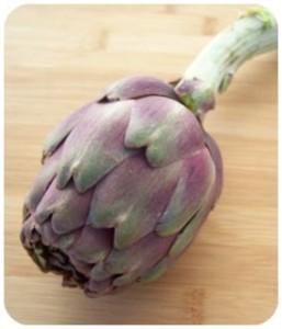 Ingredienti_ricetta_Strozzapreti Supplea Bio con carciofi e mazzancolle_carciofo