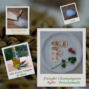 Supplea Vegan Bio - strozzapreti con funghi champignon - Ingredienti