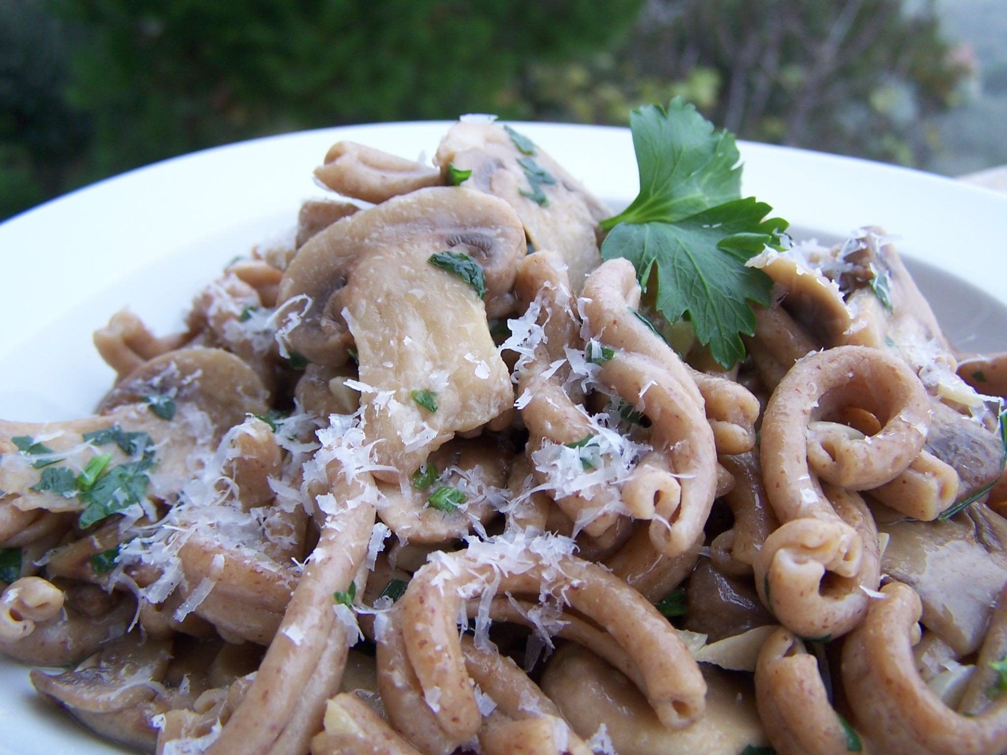 Supplea Vegan Bio - strozzapreti con funghi champignon